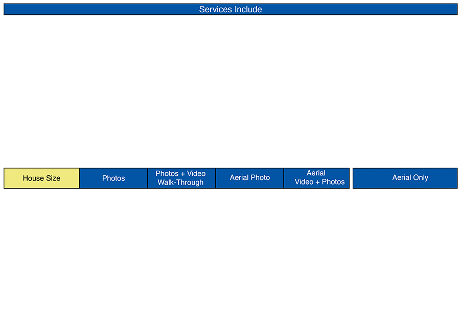 Services - Prices - Upper Half-b
